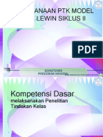 Ptk 11 Kurt Lewin Siklus II