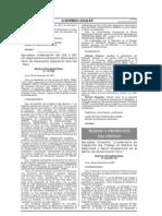 Lineamiento de Inspección del Trabajo en Materia de Seguridad y Salud Ocupacional en el Sector de Construcción Civil.