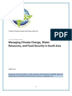 'Environment Challenges in South Asia' - 6th SAES Theme Paper by SAWTEE (Katmandu, Nepal)