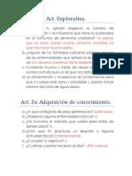 Act Cultura Fisica y Salud.