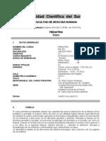 CURSO PEDIATRIA 2013-2