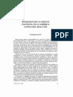 Bosquejos de La Ciencia Nacional en AL Siglo XIX