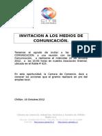 Invitacion Prensa Pro Empleo