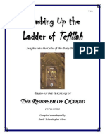 Climbing Up the Ladder of Tefillah