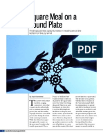 Square Meal on a Round Plate - Healthcare @ Base of Pyramid -(W)Health Check - August 2013 - Kapil Khandelwal - EquNev Capital