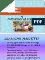 Planning Meetings