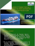 3. Regulaciones Fitosanitarias y Procedimientos Ara Exportar Productos Vegetales a EEUU - SENASA