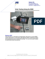 Conductivity Calibration Procedure