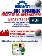 2013 - II - Opeind Sesion 04 - A