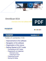 OmniScan ECA Software Training - MXE Release