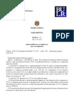 Modificari Si Completari in Legislatia Fiscala