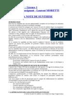 LA NOTE DE SYNTHESE.doc