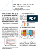 Analysis of Thermoelectric seminar