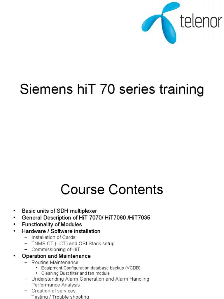 hit training presentation2 computer network networks rh es scribd com  siemens surpass hit 7020 manual