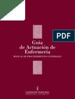 Guia de Actuacion de Enfermeria Manual de Procedimientos