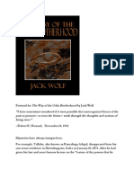 Forward for the Way of the Odin Brotherhood by Jack Wolf