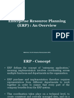 Enterprise Resource Planning - Overview