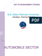 19602194 Automobile Sector Best Ppt Ppt
