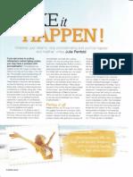 Make It Happen - Natural Health Magazine