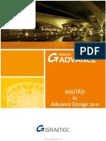 Advance Design 2011 - Noutăţi