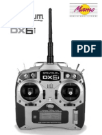 Manual RC Spektrum DX6i