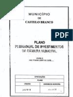 Grandes Opções Plano 2013 - CM Castelo Branco