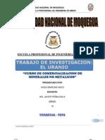 Trabajo de Investigacion - El Uranio