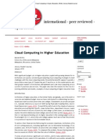 Cloud Computing in Higher Education _ Britto _ Library Student Journal