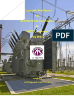 MVVNL Transformer Test Report