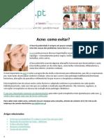 Acne como evitar.pdf