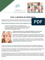 Acne o demónio da adolescência.pdf