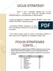 South Westfocus Strategy