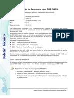 NBR 5429 - Inspeção de Processos com NBR 5429