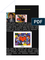 Romero Britto Texto e Imagens