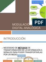 MODULACIÓN DIGITAL ANALÓGICA