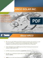 Arco Solar Company BE