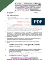130819-Mr G. H. Schorel-Hlavka to Mr Clive Palmer Re Port Expansion
