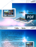 Tab VS Note