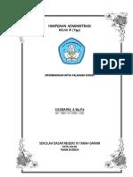 Format Administrasi Kelas Pada-Sekolah Dasar