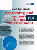 Protecting and Conserving the Marine Environment