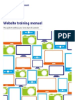 Website Training Manual
