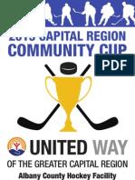 2013 Community Cup Hockey Tournament
