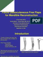 Free Flap in osteomyelitis