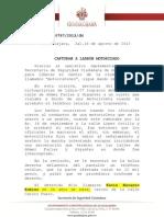 Motoladrón detenidos en agosto