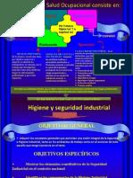 Diapositiva Higiene y Seguridad