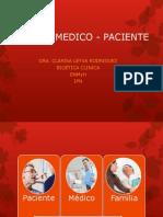 RELACIÓN MEDICO - PACIENTE