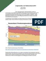Irrsinn Energiewende, Ein Faktencheck 2013