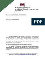 RÉPLICA - MICHELLE BARROS DA COSTA