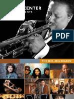 Ferst Center Presents Season Brochure 2013-2014