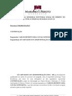 Contestação - CARLOS ERNESTO LIMA CAVALCANTE MOTA